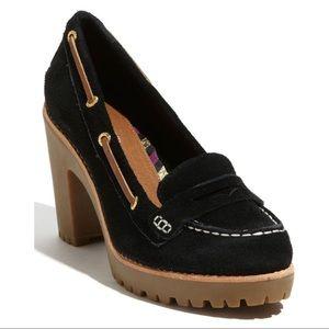 Sperry Top-Sider Darlington Black Loafer Pumps